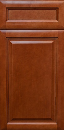 Cinnamon Glaze Cabinets