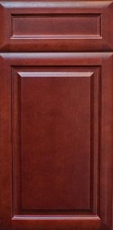 Cherry Glaze Cabinets