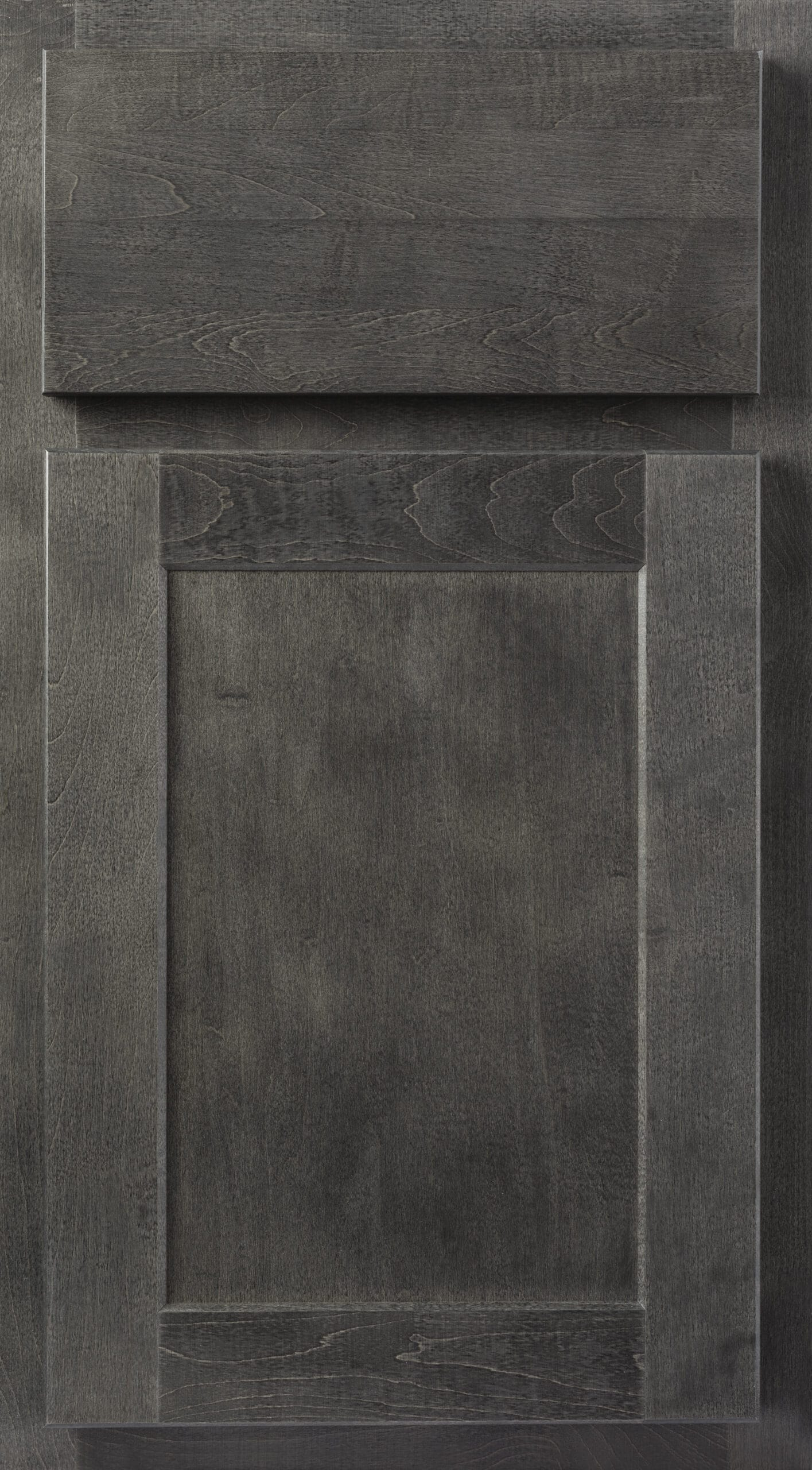 Hanover Grey Stain Cabinets
